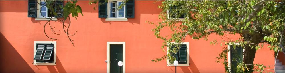 La facciata del residence