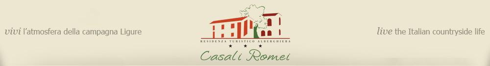 Benvenuto sul sito del Residence Casali Romei